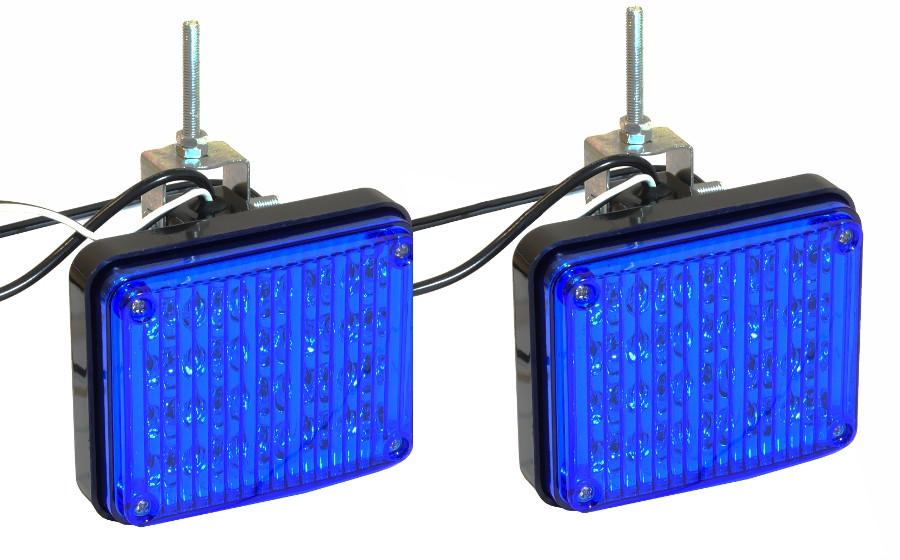Стробоскоп светодиодный синий