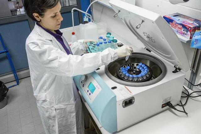 Центрифуга для лабораторных анализов