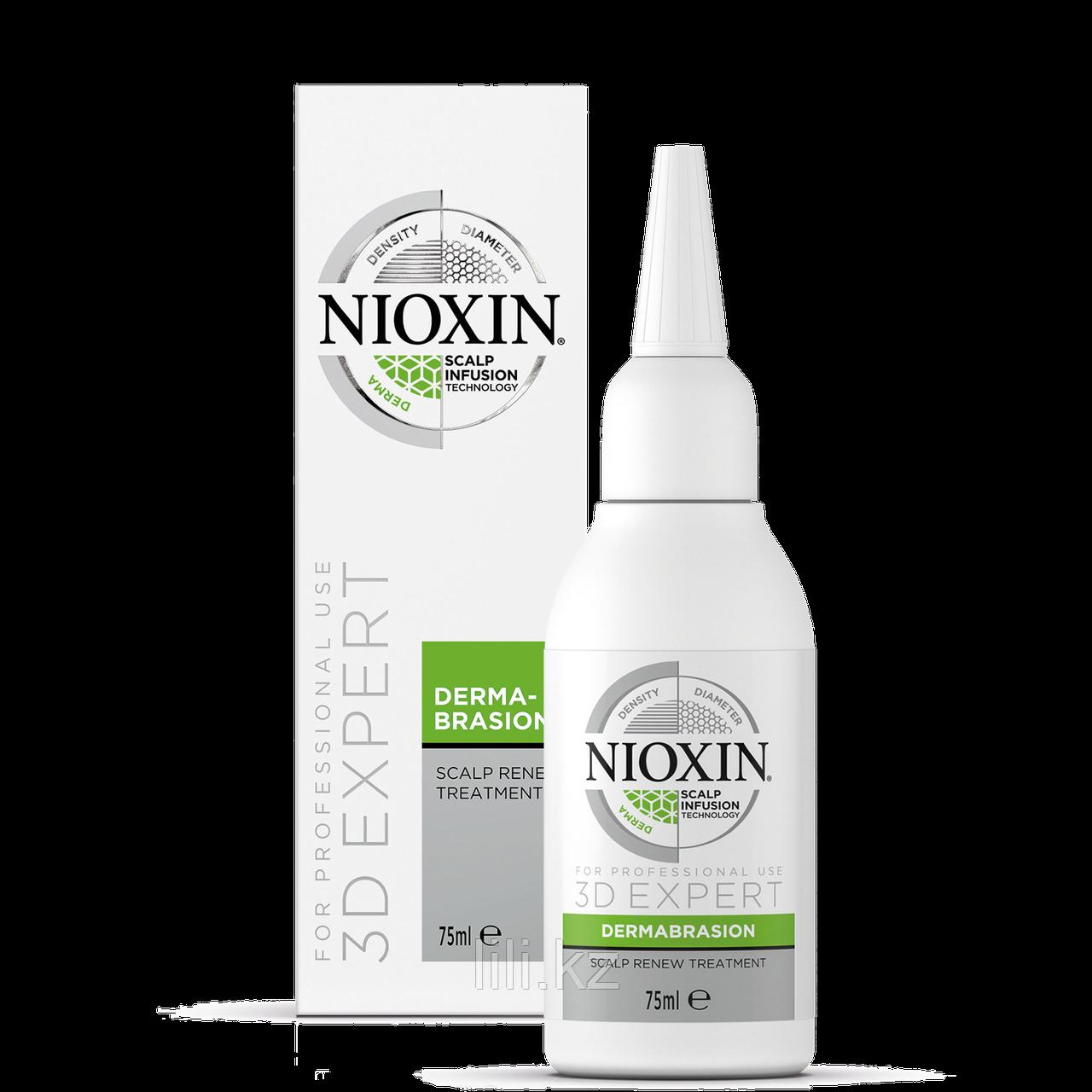 Регенерирующий пилинг для кожи головы Nioxin Scalp Renew Dermabrasion Treatment 75 мл.