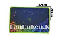 Коврик для мыши прямоугольный Razer Q-3 (синий) 320x200mm, фото 1