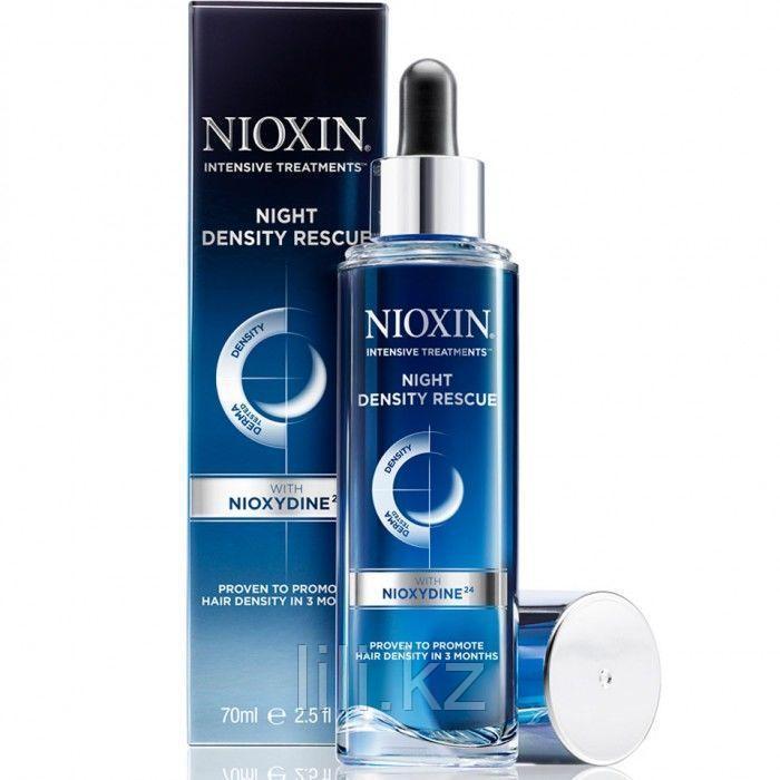 Ночная сыворотка для увеличения густоты волос Nioxin Intensive Therapy Night Density Rescue 70 мл.