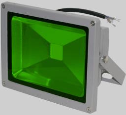 Прожектор светодиодный зеленый