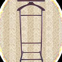 Вешалка для одежды напольная,одинарная Красное дерево, фото 2