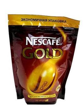 Кофе «Nescafe Gold» 130 г (пакет)