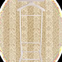 Вешалка для одежды напольная,одинарная Слоновая кость, фото 2
