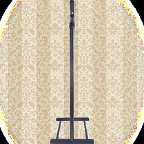 Вешалка для одежды напольная,одинарная Венге, фото 2