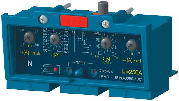 Расцепитель максимального тока SE-BD-0160-4D01 OEZ:33424