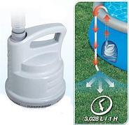 Дренажный насос для слива (откачивания) воды из бассейна 3028 л/час, Bestway 58230