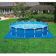 Подложка для бассейна 472 х 472 см, Intex 28048. Для бассейнов диаметром до 457 см