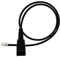 Шнур-переходник Jabra QD cord, straight, mod plug (8800-00-37)
