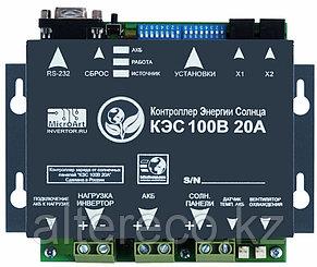 Солнечный контроллер КЭС 100/20 MPPT, фото 2