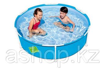 Бассейн каркасный Bestway My First Frame Pool 56283, 689 л,, Винил, Цвет: Голубой