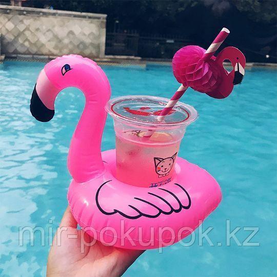 Распродажа! Надувная подставка для напитков в бассейн, на море Фламинго, Алматы