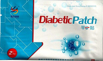Пластырь от сахарного диабета Diabetic Patch 2шт