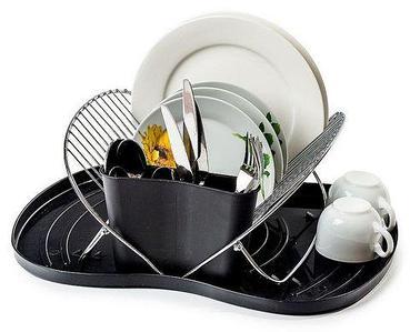 Сушилка настольная для посуды и столовых приборов складная SV-7099.DS