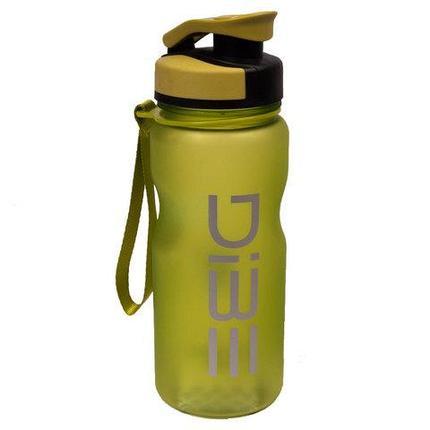 Бутылочка спортивная для воды с поилкой DIBE (Салатовый), фото 2