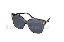 Солнцезащитные очки с пчелкой, черные