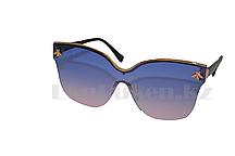 Солнцезащитные очки с пчелкой с голубо-розовыми линзами