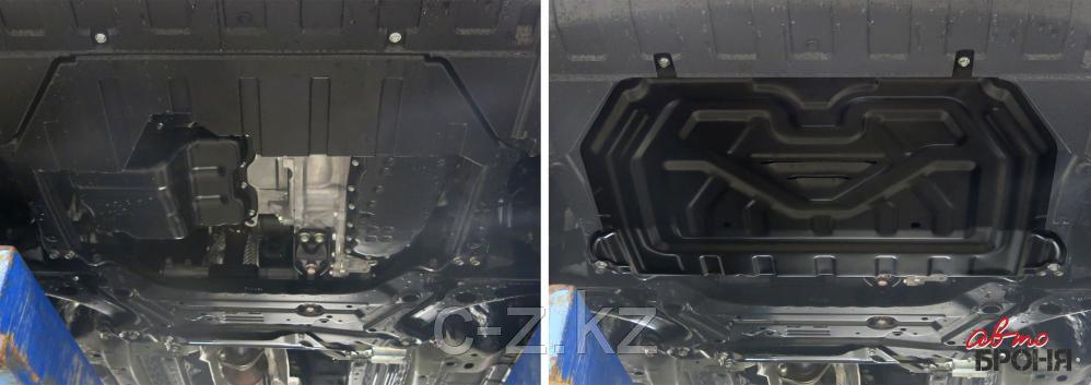 Защита картера и КПП Mitsubishi Outlander 2012-н.в., фото 2