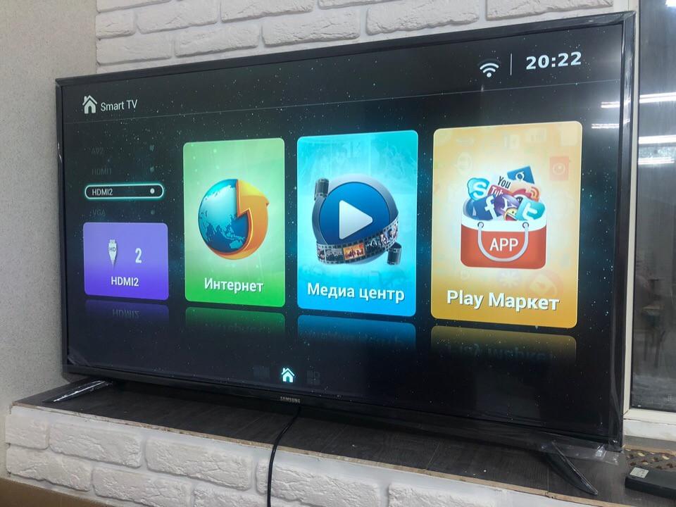 Телевизор LED TV Samsung Smart tv 55 диагональ - фото 3
