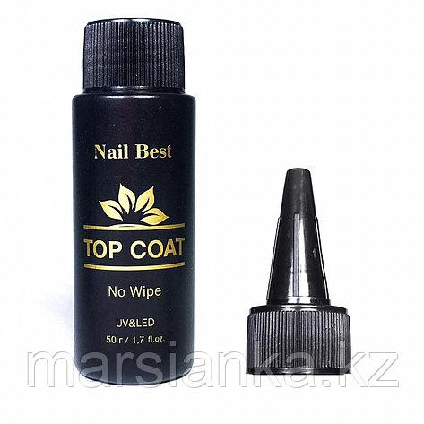Топ Nail Best Top Coat (без липкого слоя), 50мл., фото 2