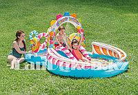 """Детский надувной игровой центр бассейн INTEX """"Сладости"""" 295x191x130cm 57149"""
