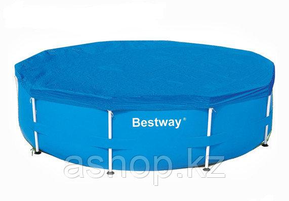 Тент для каркасного бассейна 3050 мм Bestway Pool Covers 58036,,, Искусственный водостойкий брезент, 0,10 мм,