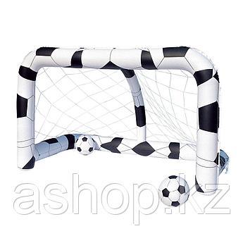 Надувная игрушка Bestway Футбольные ворота, Материал: Поливинилхлорид, Цвет: Чёрно-белый, (52058)