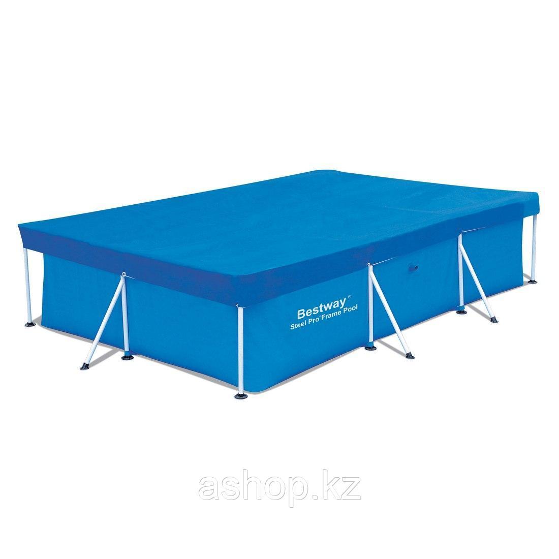 Тент для бассейна Bestway 58106,,, Полиэтилен, Цвет: Голубой