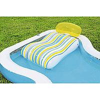 Бассейн надувной Bestway Staycation Pool, 340 л,, Насос: Нет, Лестница: Нет, Поливинилхлорид, Цвет: Голубой