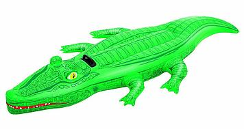 Надувная игрушка Bestway Алиготор, 1 место Возрост: От 3 лет, Поливинилхлорид, Цвет: Зелёный