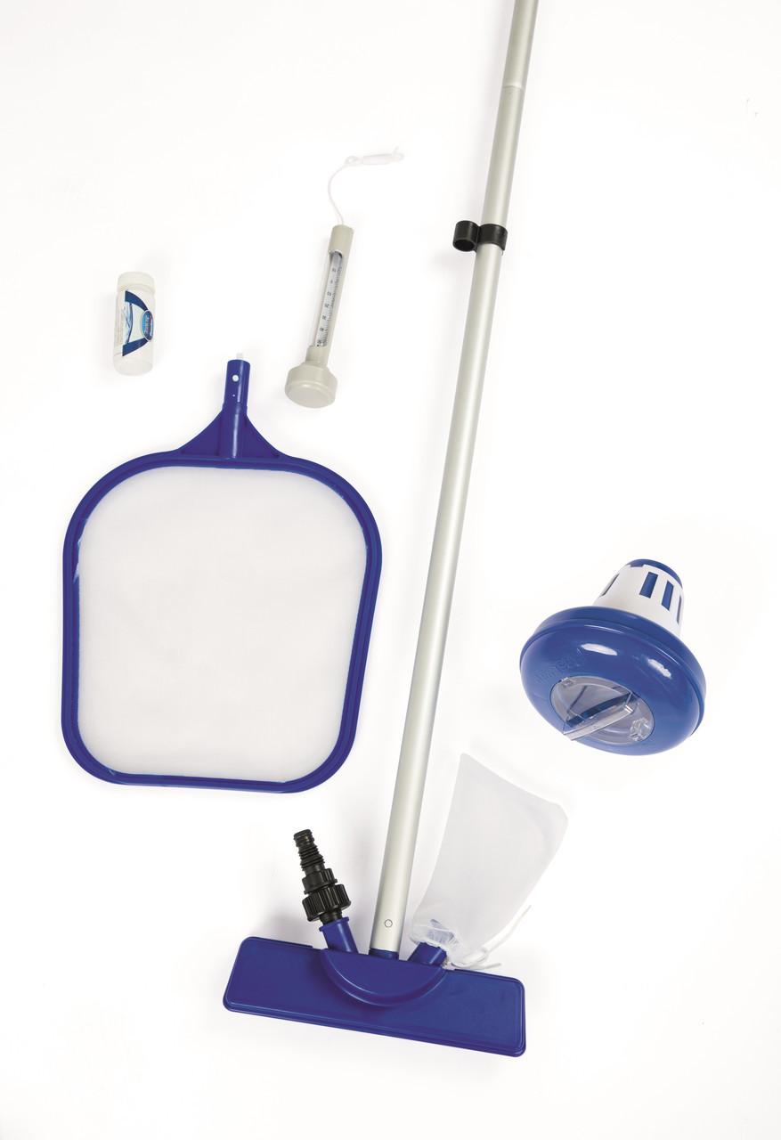 Набор для чистки бассейна Bestway 58195,,, Цвет: Сине-белый