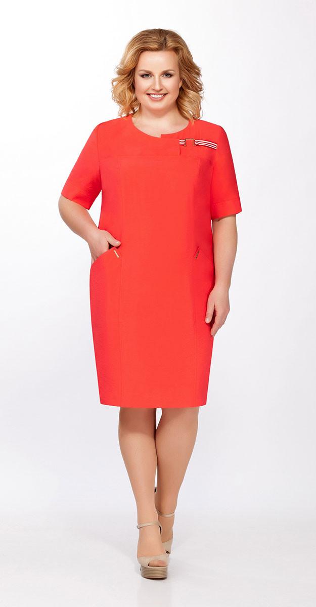 Платье La Kona-1215-1, красный, 50