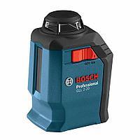 Лазерный уровень Bosch GLL 2-20 + BM-3 + Кейс