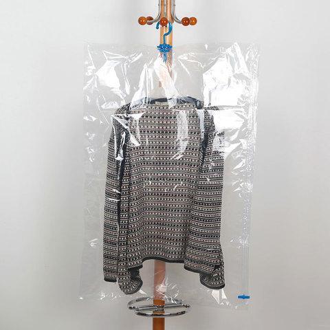Вакуумный пакет с вешалкой PRIMA DOPO для хранения одежды (90х60 см)