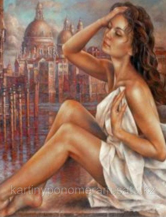 """Картина по номерам """"Венецианка 1"""""""