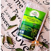 Органический зеленый чай Тулси (Tulsi Green Tea ORGANIC INDIA), 100 г.