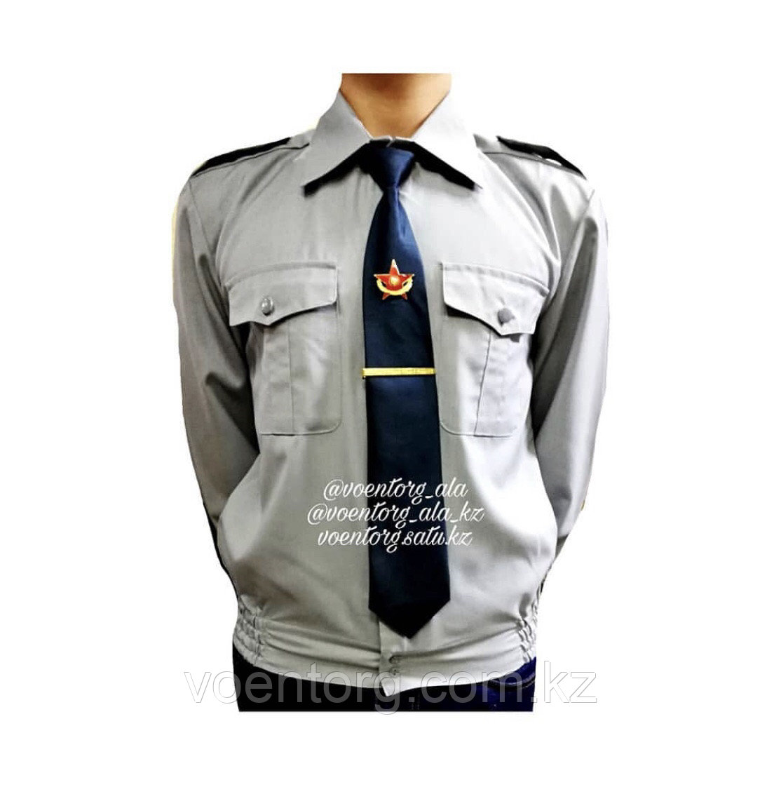 """Рубашка уставная цвета «Полынь"""""""