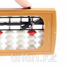13-разрядный абакус с кнопкой для обнуления, фото 2