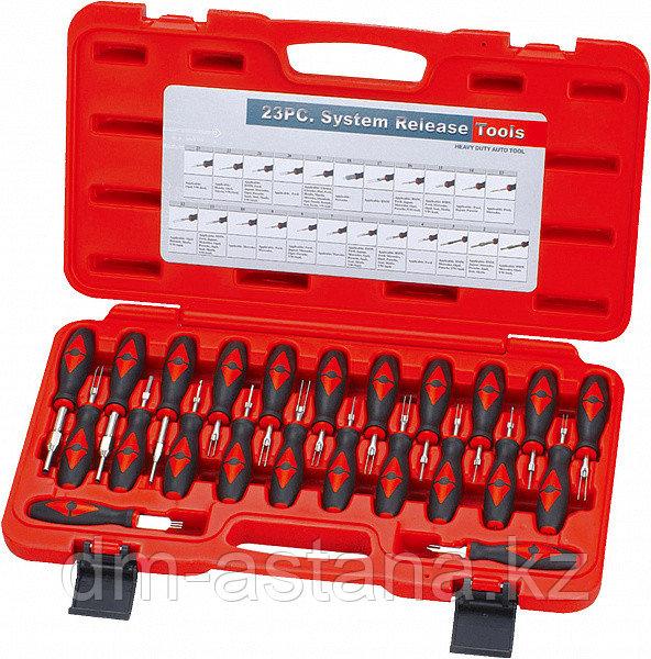 Набор инструмента для разборки электрических разъемов, 23 предмета