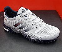 Кроссовки беговые Adidas Marathon TR 2019 белый/синий/серый