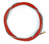 Проволокопровод(лайнер) красный 5.5 м. д. 0.9-1.2 мм.