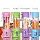 Портативный мини Блендер для смузи и коктейлей, USB Blender Juice Cup., фото 8