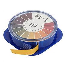 Лакмусовая бумага (pH тест) 1 до 14 pH. Рулон 5 метров. Индикаторная бумага. Лакмус тест.