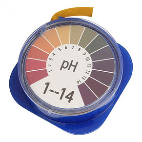 Лакмусовая бумага (pH тест) 1 до 14 pH. Рулон 5 метров. Индикаторная бумага. Лакмус тест. , фото 2