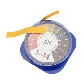 Лакмусовая бумага (pH тест) 1 до 14 pH. Рулон 5 метров. Индикаторная бумага. Лакмус тест. , фото 3