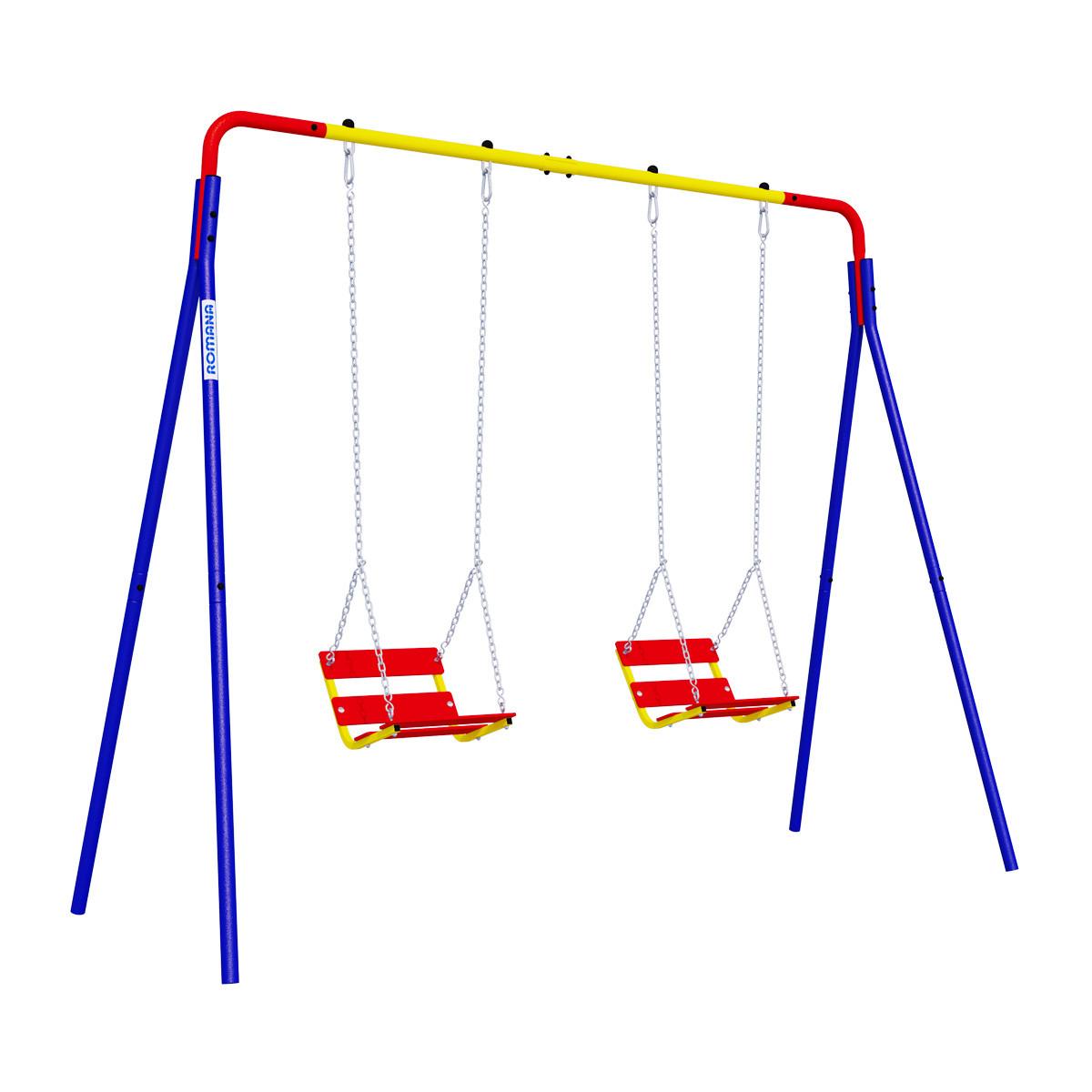 Качели Romana двойные на цепях