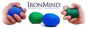 Комплект эспандеров IronMind EGG Blue + EGG Green. Кистевой эспандер яйцо. , фото 3