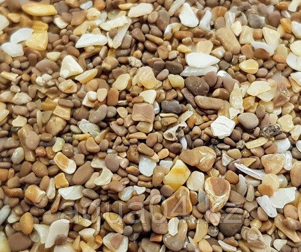Натуральный окатанный грунт «Конго»  1,0-2,5 мм