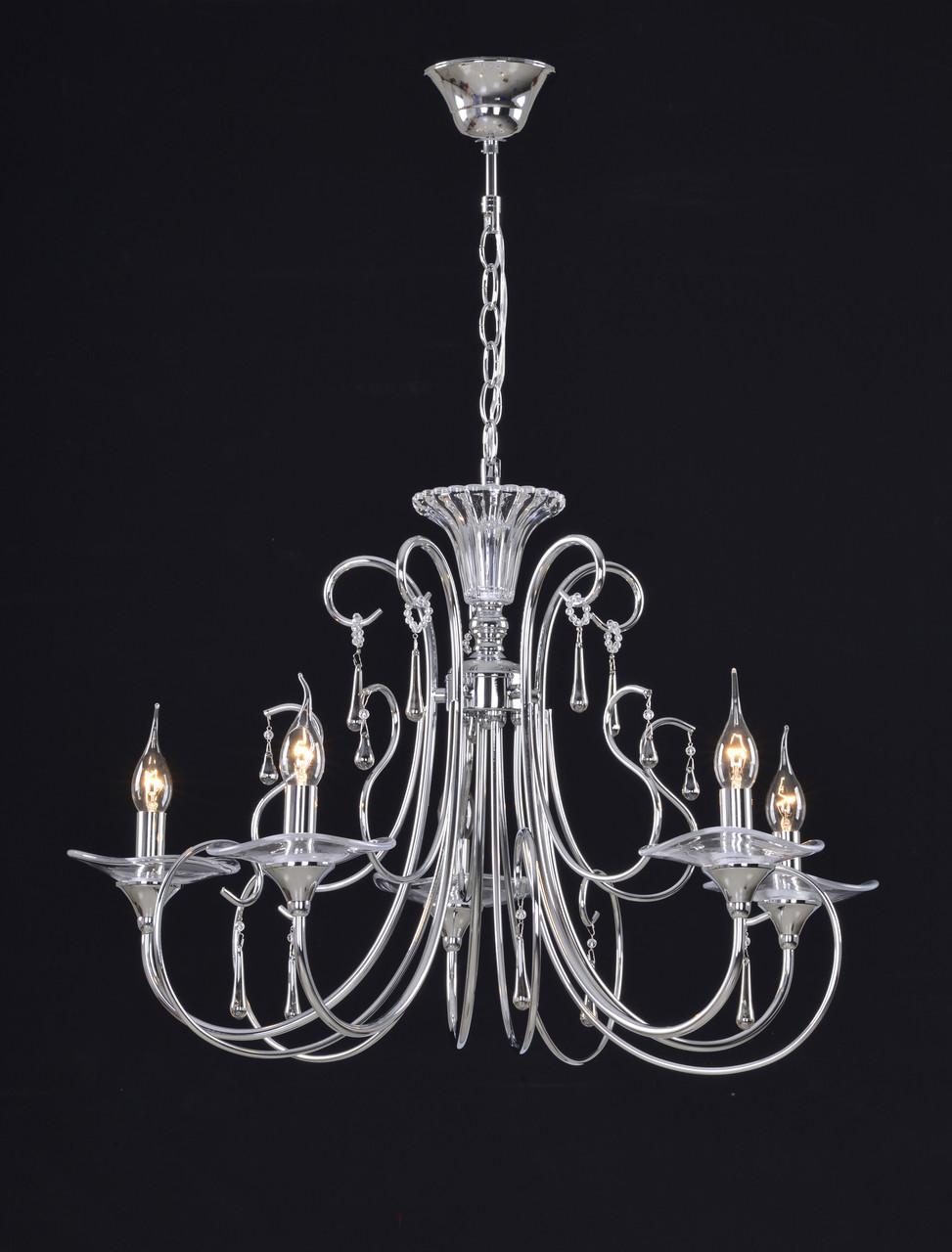 Люстра подвесная 5-ти ламповая классическая
